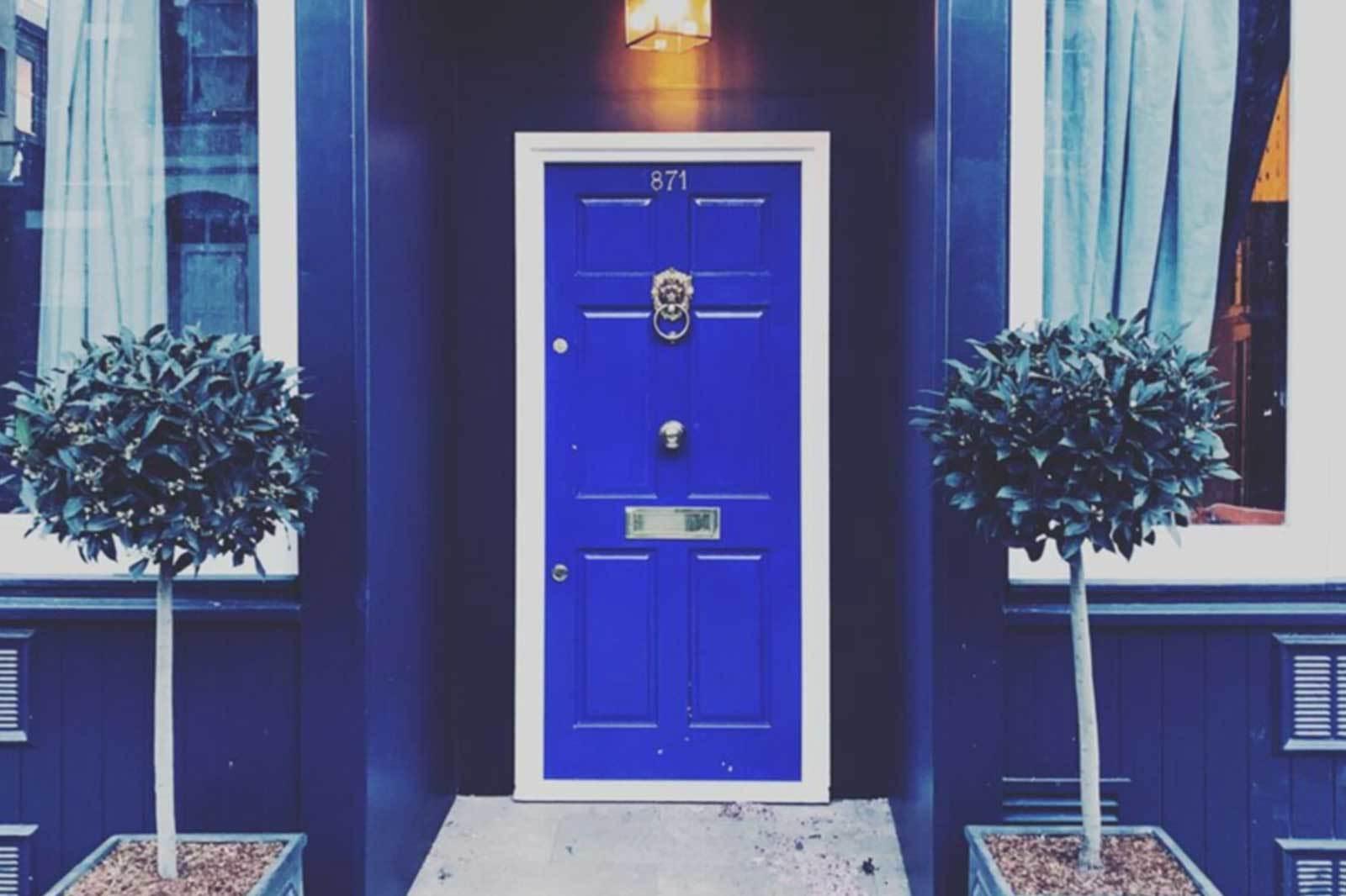 Little Door Blue Door location