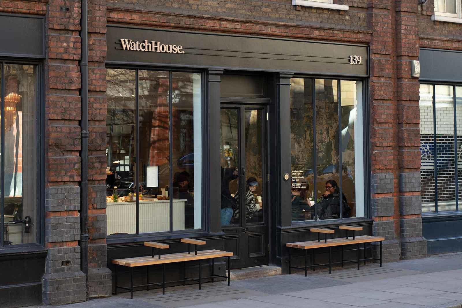 Watch house Spitalfields location